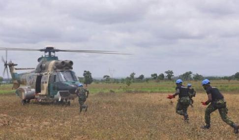 boko haram shoots naf helicopter