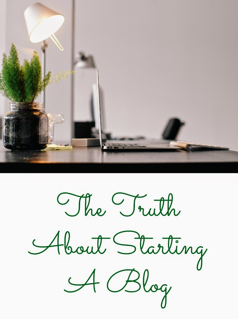 The Truth About Starting A Blog- the 3 questions you need to ask yourself first & the 5 basic steps you need to take to start a blog