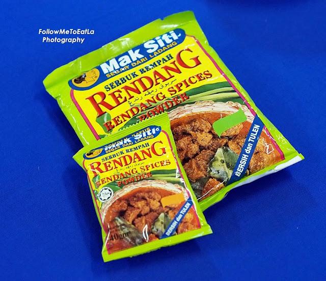 Mak Siti Serbuk  Rempah Rendang / Rendang Spice Powder