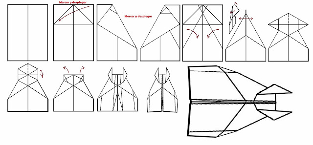 Avión de papel Wing 1
