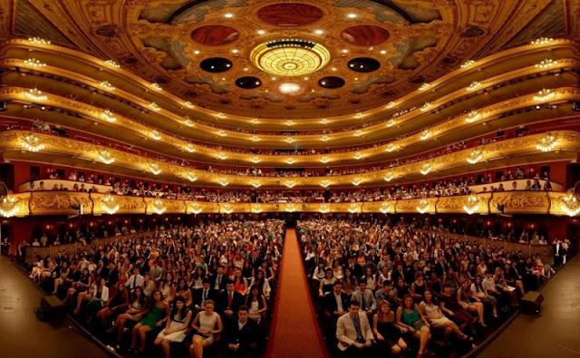 Gran Teatre del Liceu em Barcelona