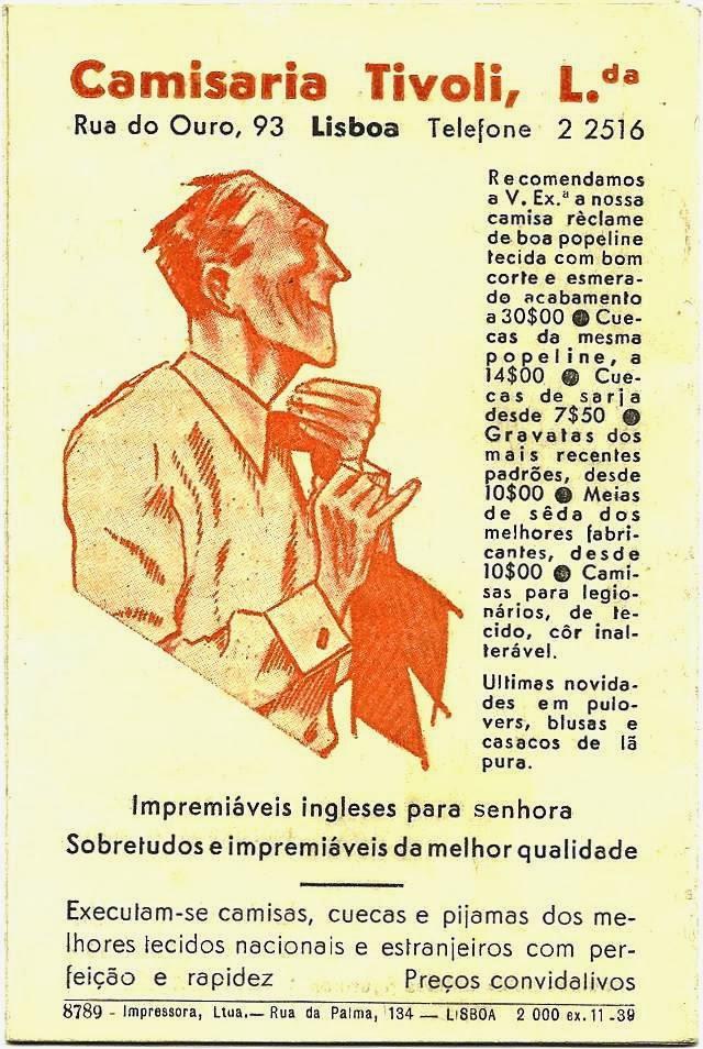 Aterrem em Portugal!  «Escaparate de Utilidades» Camisaria Tivoli 3e49370a3bfb2