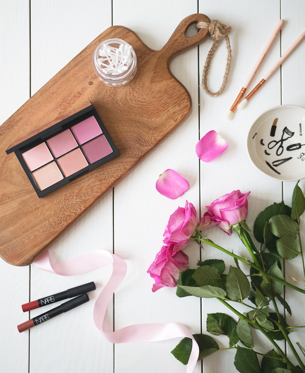 NARS Unfiltered Cheek Palette II Review.