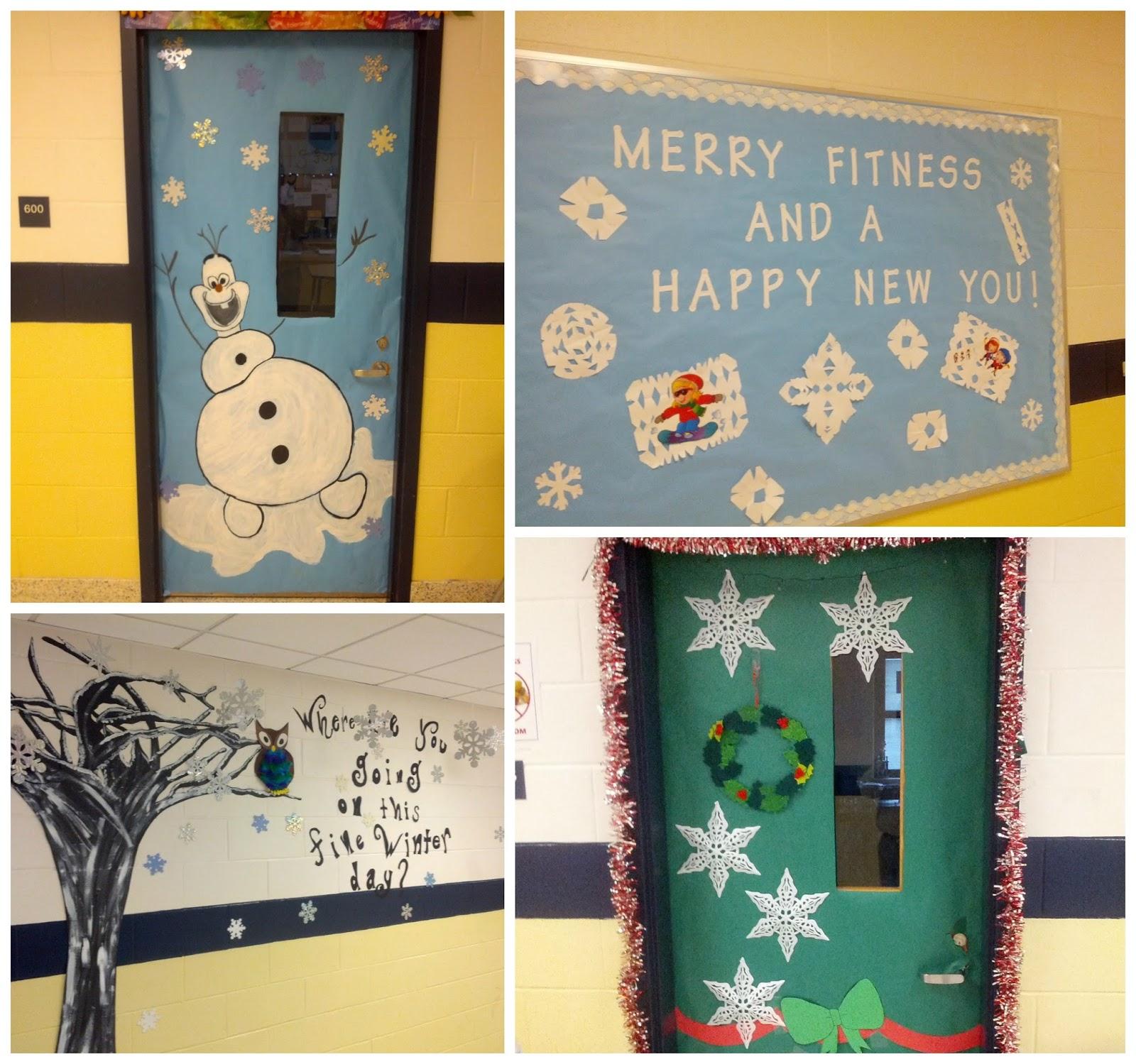 Dayton Avenue School - Principal's Corner : Holiday Door ...