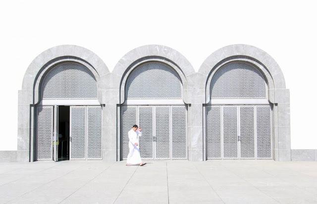 Una visita al Museo de Arte Islámico de Doha Terraza Puertas