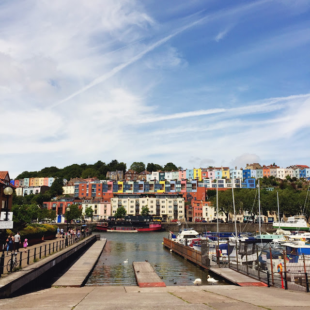 Bristol harbourside, looking across to Hotwells