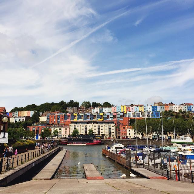 Bristol harbourside, looking across to Hotwells