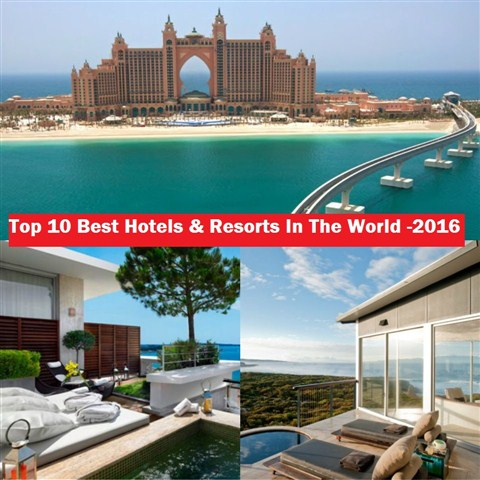 Top 10 best most luxurious hotel resorts in the world for Amazing hotels of the world