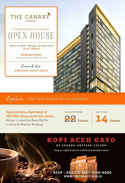 apartemen the canary serpong