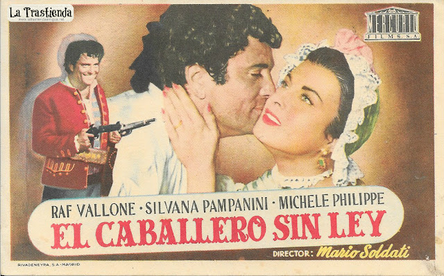 El Caballero sin Ley - Programa de Cine - Raf Vallone - Silvana Pampanini