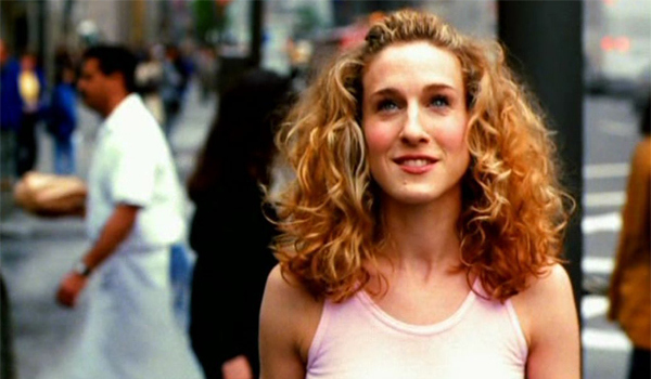 Carrie Bradshaw, Sex and the City -  opening titles