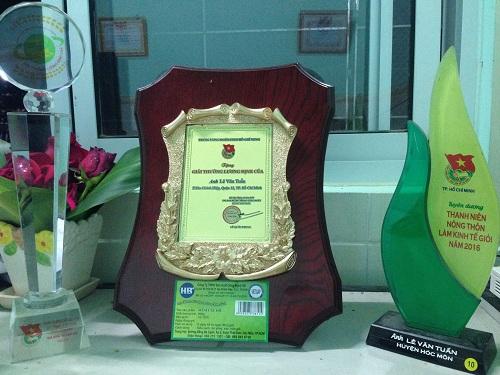 Giải thưởng Lương Định Của về rau Hữu Cơ