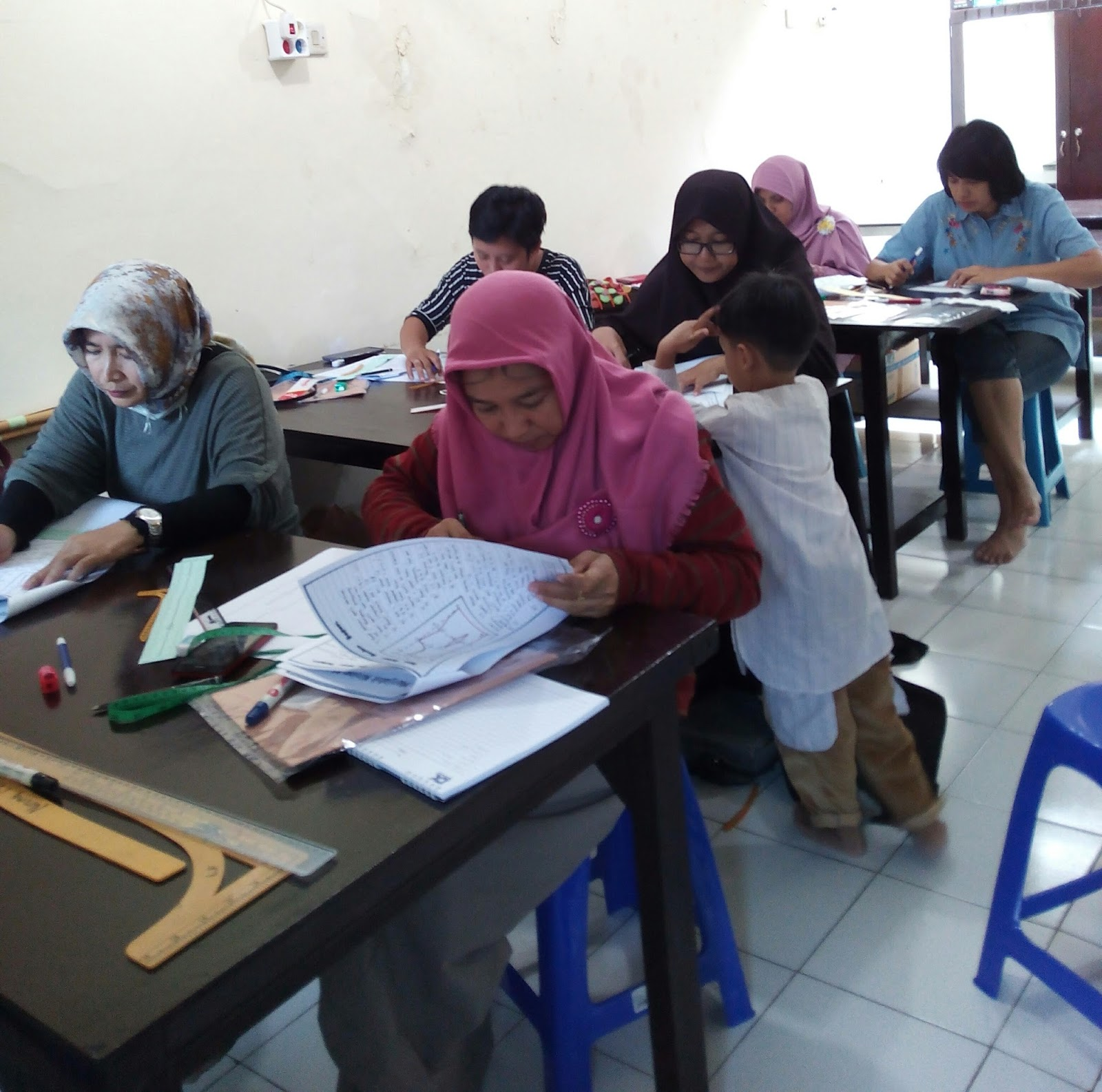 Pelatihan Kursus Menjahit Di Depok Buku Panduan Dalam Pelajaran