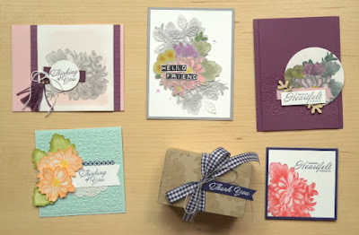 Stampin' Up! Sale-a-Bration 2018 Favorite: 7 Heartfelt Blooms Projects