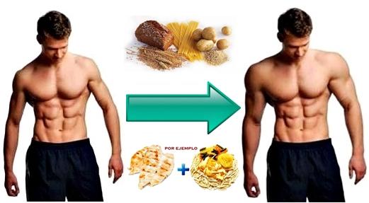 dieta para ectomorfos engrosar masa