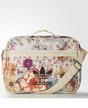 Farm e Adidas Originals bolsa estampa Confete