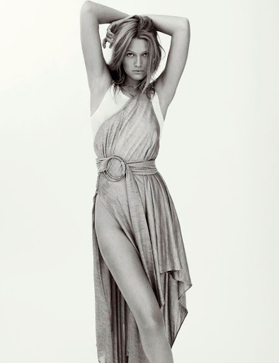 Toni Garrn sexy models photo shoot by Philip Gay for Madame Figaro magazine