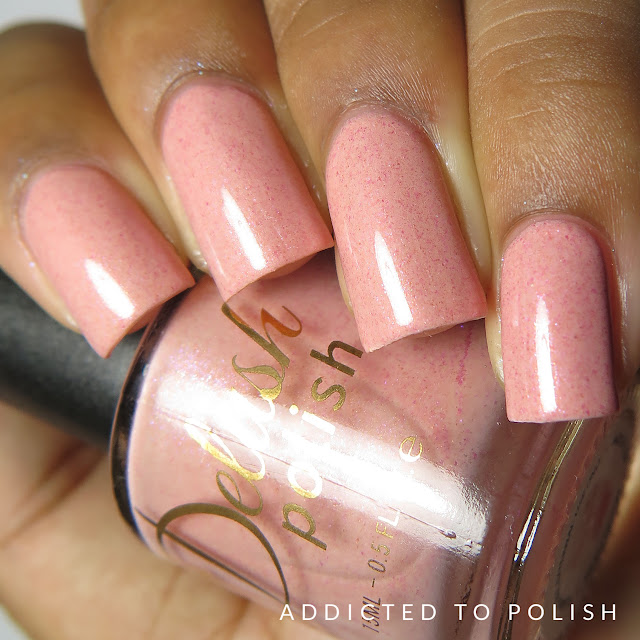 Delush Polish Beam Me Up Biscotti High and Mightea Spring 2016
