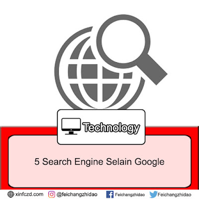 5 Search Engine Populer Selain Google!