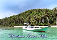 perahu pengantar wisatawan karimunjawa