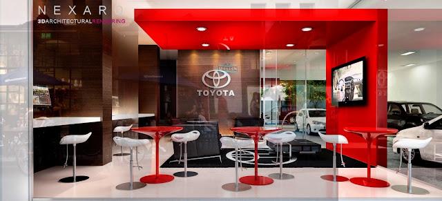 Render Concesionaria Toyota