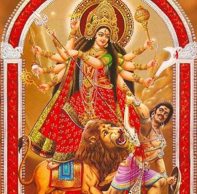 Picture of Durgashtami or Durga Ashtami Festival in India