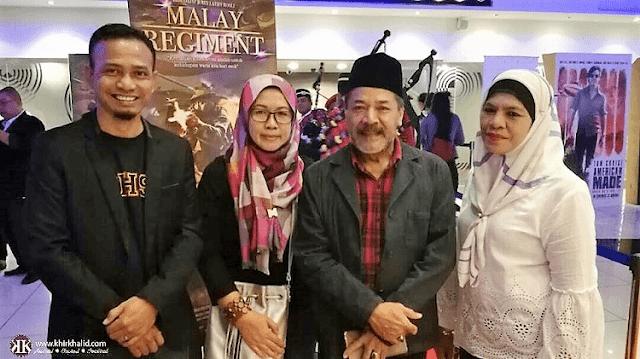 Mubarak Majid, Tayangan perdana Malay Regiment,