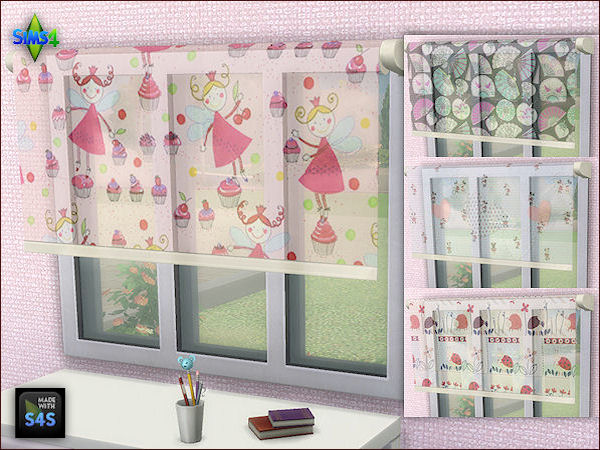 gardinen f r kinder curtains for children. Black Bedroom Furniture Sets. Home Design Ideas