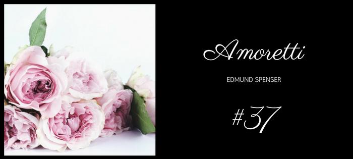 Analysis of Edmund Spener's Amoretti Sonnet #37