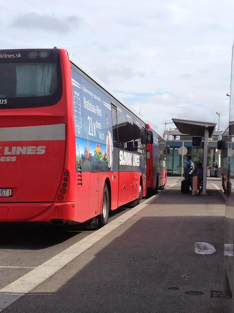 autobús de Viena a Bratislava