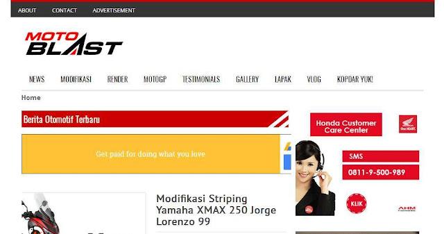 Motoblast.org - Blog Otomotif  Terbaik Di Indonesia