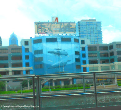 Wyland Whale Wall in Philadelphia Pennsylvania