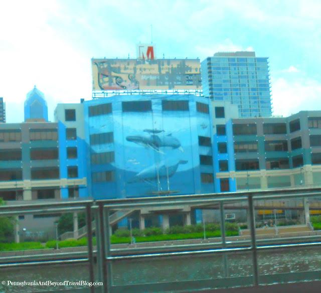 Wyland Whale Wall in Philadelphia Pennsylvania