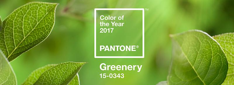 Vestidos Greenery - Cor de 2017