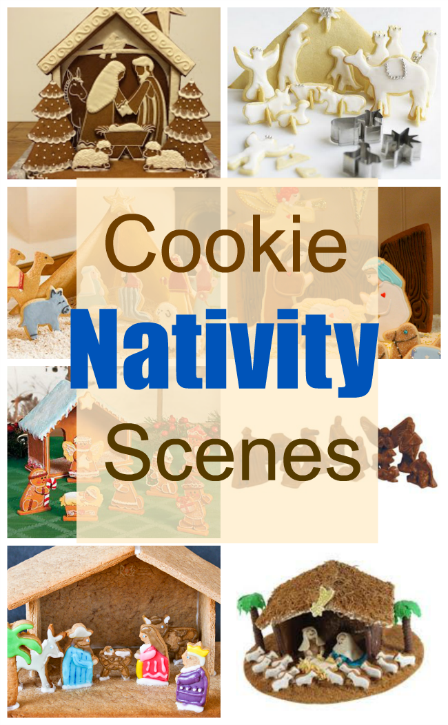 Awesome And Fun Cookie Nativity Scenes Crafts A La Mode