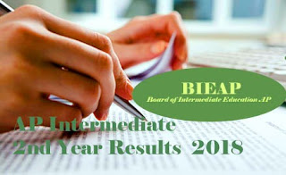AP Inter Second Year Results 2018 | AP Intermediate Second Year Results 2018 |  AP Inter 2nd Year 2018 Results  | AP Intermediate 2nd Year 2018 Results