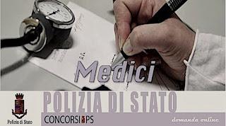 Bando di concorso per medici al Ministero dell'Interno - Polizia di Stato.