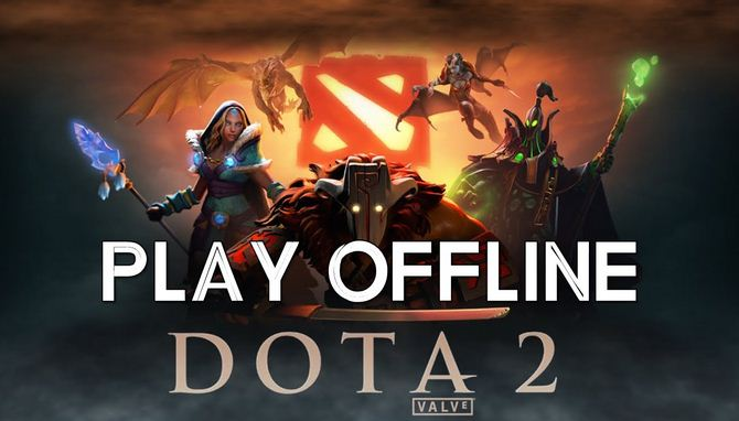 Download Game DOTA 2 Offline For PC