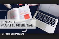 Variabel Penelitian dan Definisi Operasional