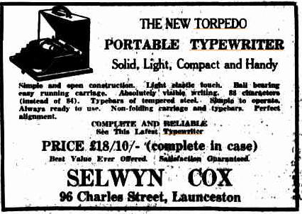 oz.Typewriter: Revived: Torpedo 15a Portable Typewriter