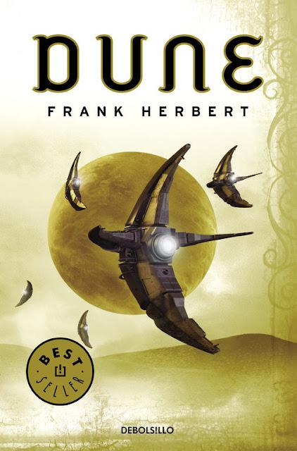 Portada de Dune de Frank Herbert