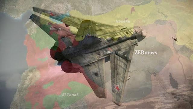 Rusya dan Deyrezzor da IŞİD e ağır darbe