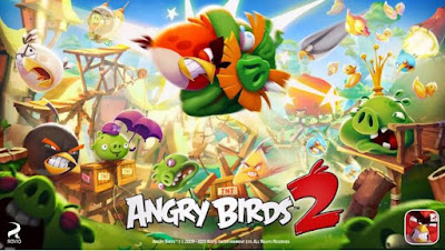 Game aksi strategi Angry Birds 2 v2.6.0 Mod Gems & Energy