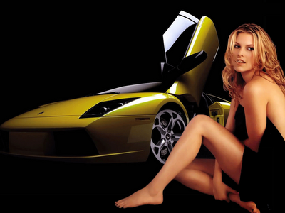 hot girl with hot cars wallpapers %25281%2529