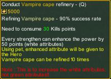 Dream One Piece Vampire Cap Refinary detail