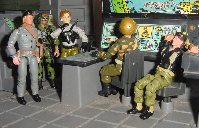 1989 Night Force Psyche Out, TRU Exlusive, Lt. Gorky, Oktober Guard, 2005 Comic Pack Flint, 2003 Convention Exclusive Major Storm, Alpinista, Hit and Run, Brazil, Estrela