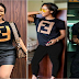 Tonto Dikeh Steps Out In A FAKE Fendi Shirt [ #photos ]