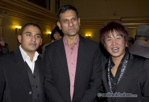 rajesh hamal and madhu bhattarai wedding, sitaram katail, ramesh kharel, rajesh payal rai