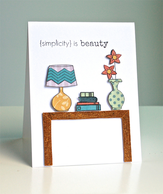 Table Card by Diane | Newton's Nook Designs