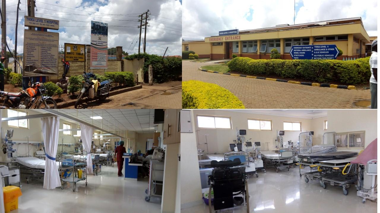 Image result for Thika Level 5 Hospital